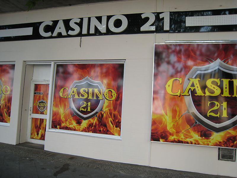 Videoüberwachung für Casino21